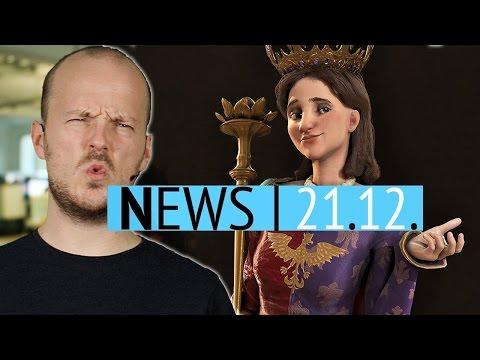 News: Morgen beginnt der Steam Winter Sale! - Crytek trennt sich von 5 Studios & DLCs für Civ 6