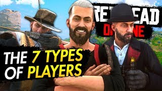 The 7 Types of Red Dead Online Players