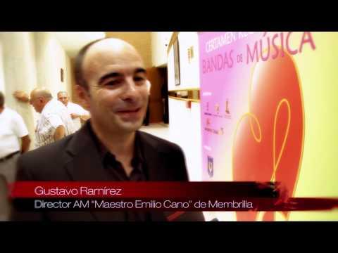 Reportaje  I Certamen Regional de Bandas de Música de Mota del Cuervo