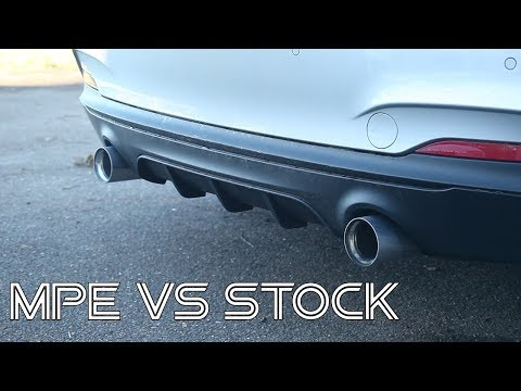 BMW M235i M Performance Exhuast Before & After