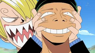 One Piece VF: Ussop se moque de Zoro (Ep 224)