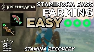 Zelda: Breath of the Wild - Staminoka Bass Farming (1 Fish = 1 Stamina Wheel)