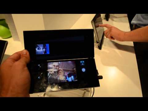 Sony Tabelt P Hands On