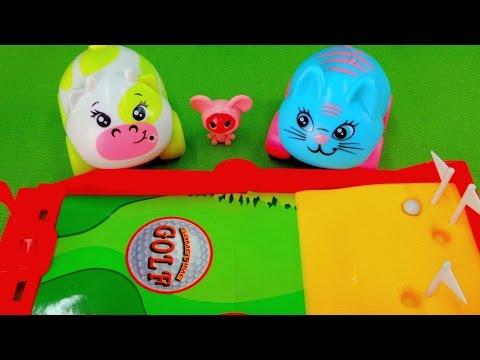 Развивающее видео для малышей. Соревнования по гольфу