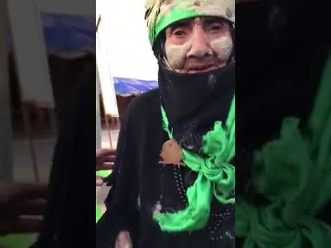 Sabse Zaeef Zaer e Imam Hussain a.s 2018 Najaf to karbala Walk | Paidal Najaf se karbala