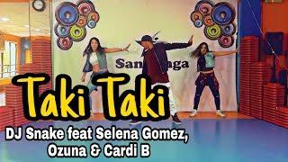 Taki Taki Dj Snake Feat Selena Gomez Ozuna Cardi B Coreografia Zumba