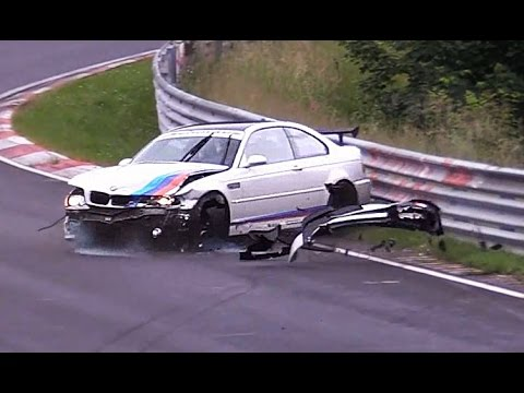 BMW CRASH, FAIL & WIN Compilation 2016 Nürburgring Nordschleife Touristenfahrten 24H VLN