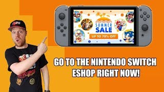 INSANE CHEAP GAMES ON THE NINTENDO SWITCH ESHOP RIGHT NOW!