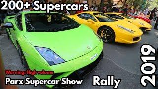 Real NFS Driving in MUMBAI | Parx Supercar Show 2019 Lamborghini Porsche Ferrari BMW Audi AMG