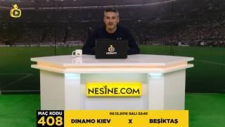 6 Aralık 2016 | Dinamo Kiev X Beşiktaş Maçı [TEK MAÇ] |#NesineTV