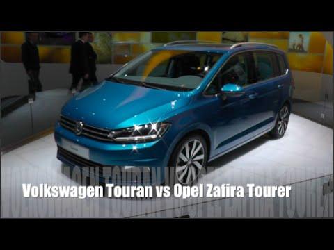Opel Zafira Tourer 2016 vs Opel Zafira Tourer 2016