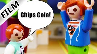 Playmobil Film deutsch | CHIPS COLA VERHEXT - Julian hat Sprechverbot | Kinderfilm Familie Vogel