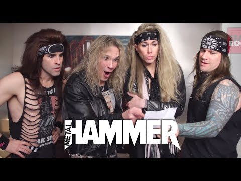 Steel Panther star in