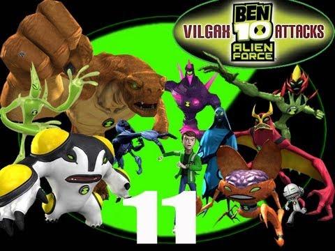 Let's Play Ben 10 Alien Force: Vilgax Attacks #11 - Darkstar's Wrath