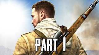 Sniper Elite 3 Gameplay Walkthrough Part 1 - Afrika (PS4)