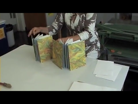 How to bind a simple book (bookbinding)