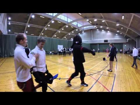 Helsinki Longsword Open 2016 - Men's pool 4