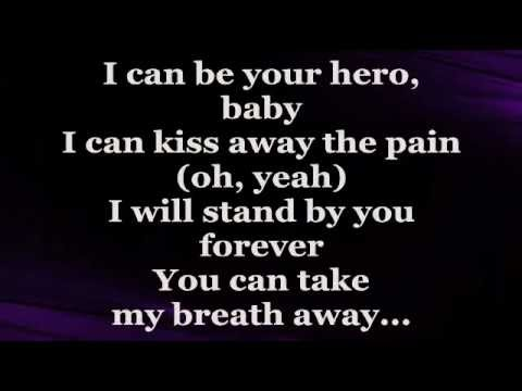 Hero (lyrics) - Enrique Iglesias video