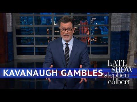 Brett Kavanaugh's Alleged Gambling Is Focus Of New Inquiry