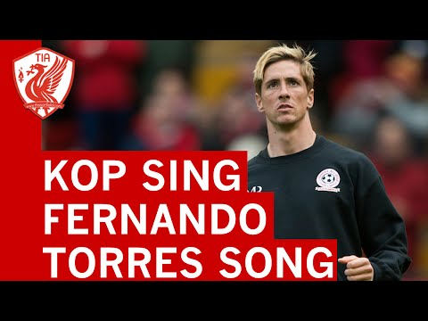 Fernando Torres Song - The Kop, Anfield - LFC All Star Game
