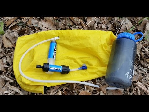 Sawyer Mini Water Filter and Gravity System Review