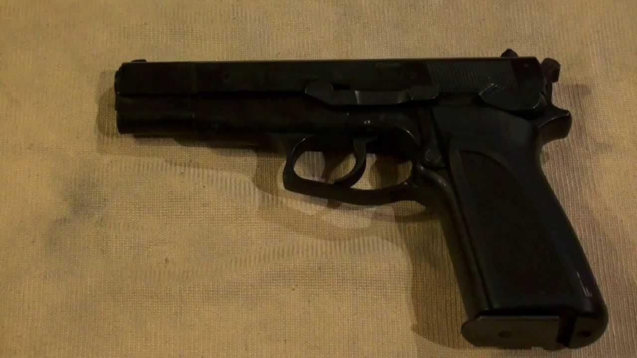 Desarme pistola browning 9mm youtube - Pistola para lacar ...