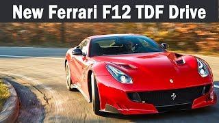 The New Ferrari F12 TDF On Road Amazing Design, Interior and Exterior | Ferrari F12 TDF Drive