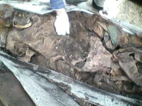 exumação de uma mulher enterrada a 4 anos e 1 més parte 1
