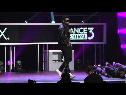 Usher performs Scream at the Microsoft conference at E3 2012...