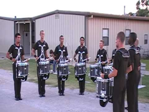 Blue Knights Snare Line 2008