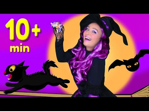 Halloween Songs for Children, Kids and Toddlers with Ten Scary Steps + Finger Family and More!