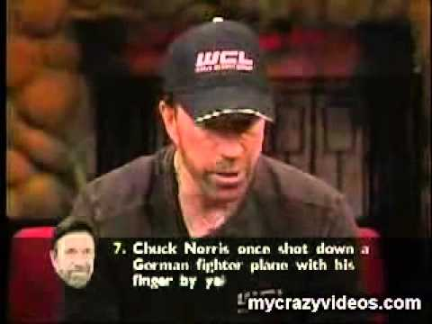 Chuck Norris hears his own facts...