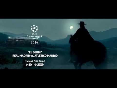 Real Madrid vs Atletico Madrid Champions League Final 24.05.2014 PROMO HD