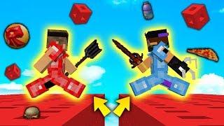 SFIDA con i LUCKYBLOCK di ROBLOX !! - Minecraft ITA