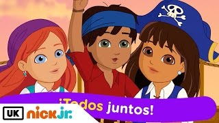 Dora and Friends | Sing Along - All for One | Nick Jr. UK