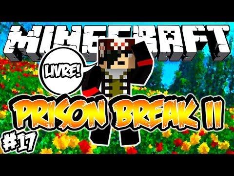 SOU LIVRE OU NÃO PRISON BREAK 2: Minecraft #17