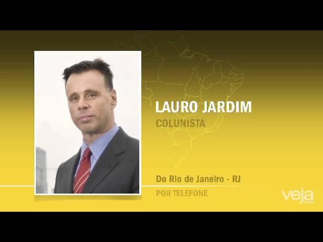 'Briga interna no PMDB respinga na presidente', diz Lauro Jardim