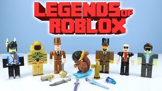 Legends of RoBLOX Series 2 Toy Review with Catalog Heaven Gameplay