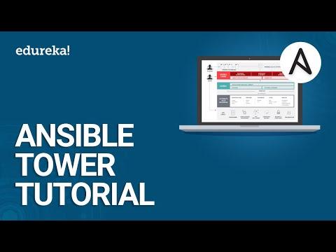 Ansible Tower Tutorial | What Is Ansible Tower? | DevOps Tools | DevOps Training | Edureka
