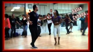 Clase de Salsa Cubana Basi y Deisy   www.bailesurmadrid.com