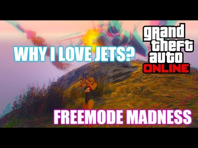 WHY I LOVE JETS? |FREEMODE MADNESS| #antieasywayout