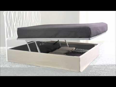 Cosatto letto contenitore matrimoniale scrigno box con alzarete youtube - Sbloccare pistoni letto contenitore ...