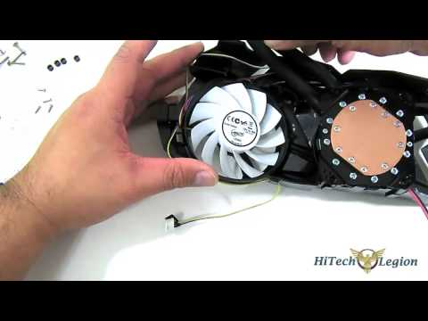 Arctic Accelero Hybrid VGA Cooler Installation Guide on a GT