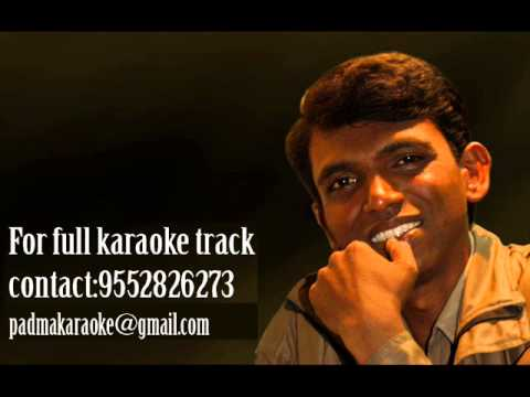 priticha chand raati karaoke by padmakar karaokelab for full...