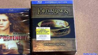 Sleeping with Enemy blu ray - Lord of the Rings Extended Edition blu-ray Trilogy update