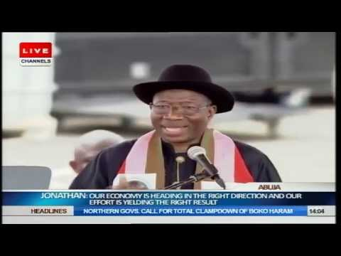 Jonathan Declares Intention To Run For 2015 Presidential Poll