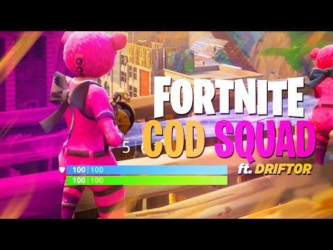 COD CHANNELS PLAY FORTNITE! - Fortnite: Battle Royale