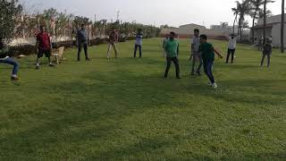 Hit the target adventurous sports game at corporate team outing 9003087198