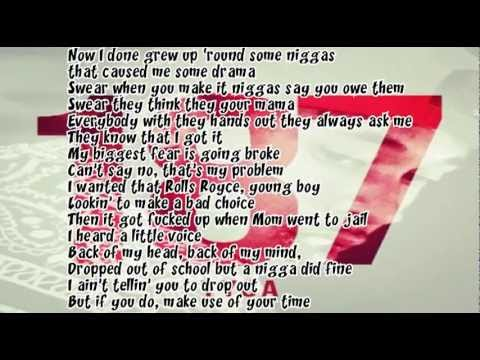Tyga Swimming Pools Lyrics Youtube