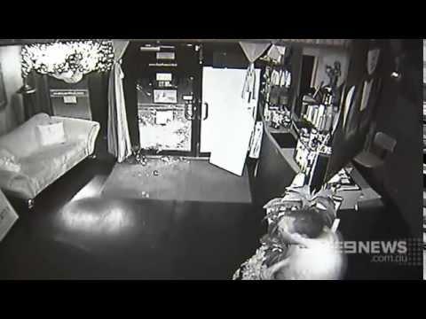 Brazen Break-In | 9 News Perth
